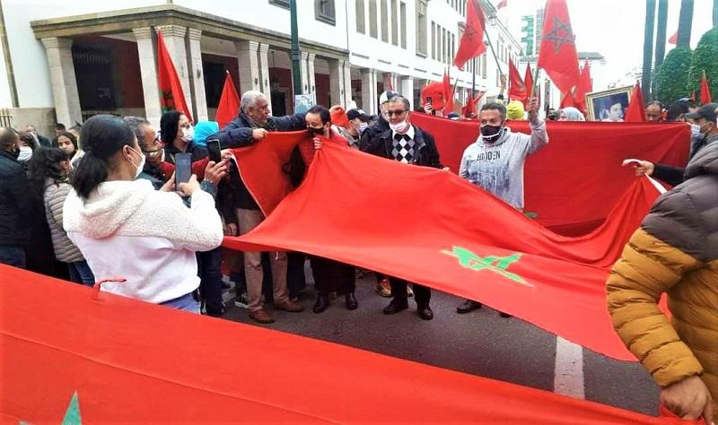 شعارات الصحراء المغربية تهز العاصمة الرباط احتفاءً بالانتصار الكبير للقضية الوطنية
