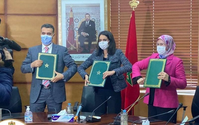من الرباط. اتفاقية ثلاثية تهم تعبئة مغاربة العالم للمساهمة في تطوير الاقتصاد الاجتماعي