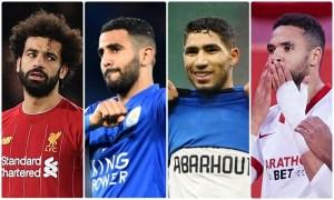 أبرزهم حكيمي والنصيري.. النجوم العرب هدافون بالدوريات الأوروبية الـ5 الكبرى