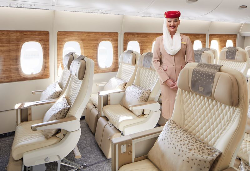 طيران الإمارات تجوَد خدماتها على متن طائرة A380