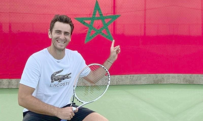 بعد فوزه الأول حاملا اللون الوطني.. بنشيتريت: علم المغرب شرف كبير لي