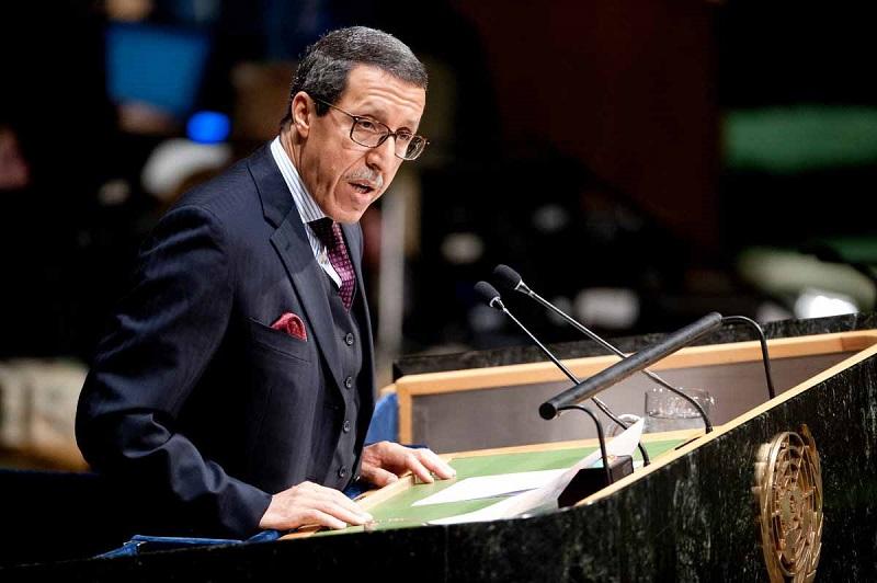 السفير هلال للأمم المتحدة: انتخابات 8 شتنبر تأكيد جديد على مغربية الصحراء