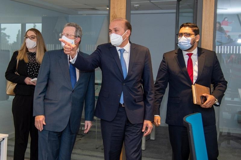 """الرباط. """"الأحرار"""" يستقبل سفير بلجيكا ويتفقان على تقوية قنوات الحوار المؤسساتي"""