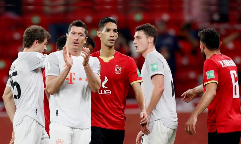 بايرن ميونخ يرحم الأهلي المصري بهدفين ويتأهل لنهائي مونديال قطر للأندية