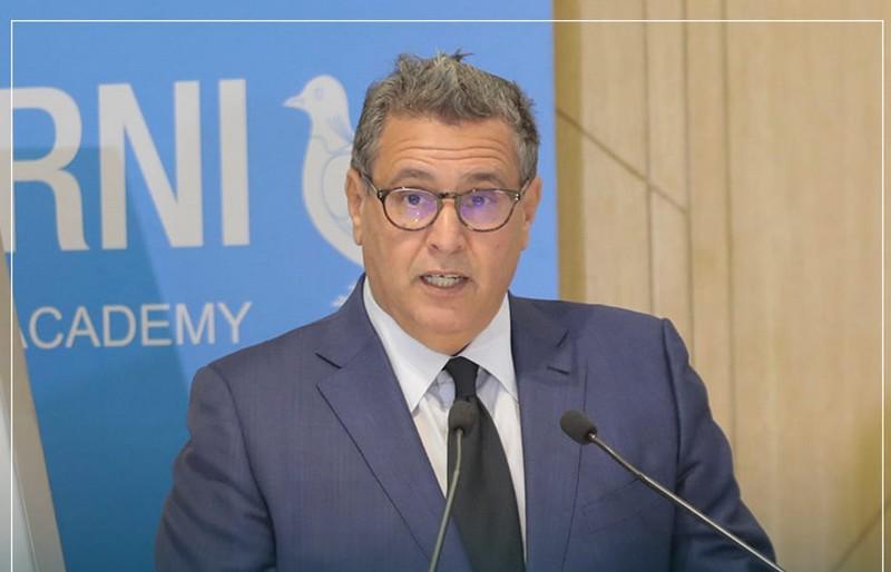 أخنوش: 'النموذج التنموي' سيعيد الثقة في المؤسسات ويحقق كرامة المغاربة