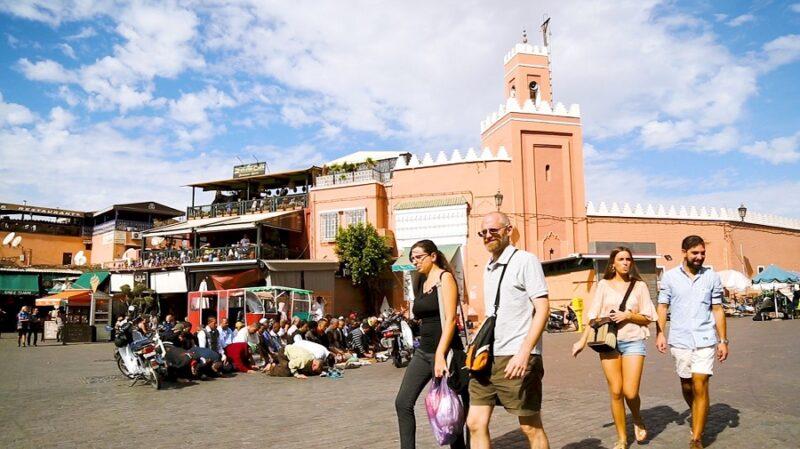 تقرير | تراجع عدد السياح الوافدين على المغرب بـ78.5% مع متم 2020