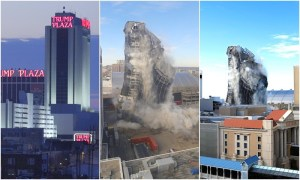 (فيديو) استضاف حفلات أكبر المشاهير.. تفجير فندق فخم لترامب بقرار أمريكي رسمي