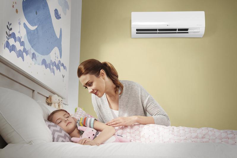إل جي تطرح مكيف الهواء DUAL COOL مع استهلاك منخفض للطاقة