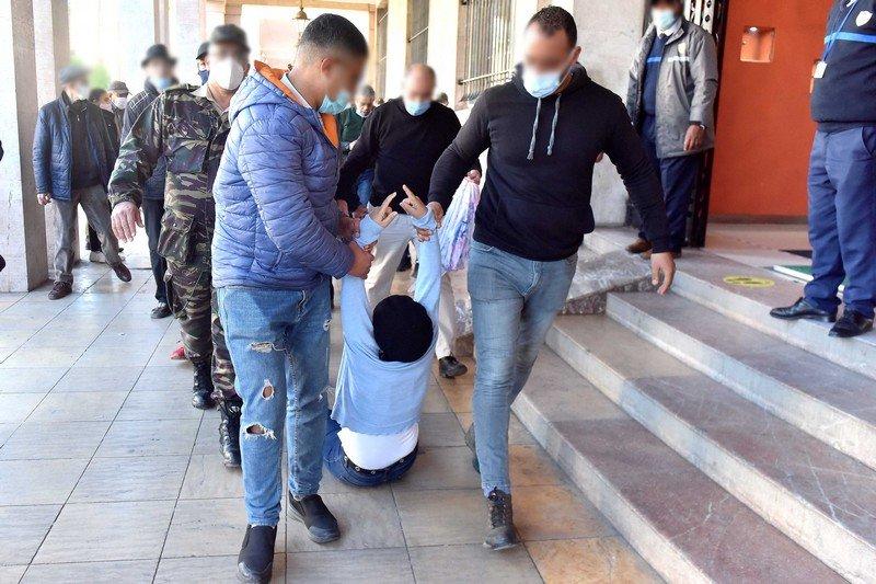 احتجاجات 'أساتذة التعاقد'.. مجلس بوعياش يؤكد على أهمية حماية حق التظاهر السلمي