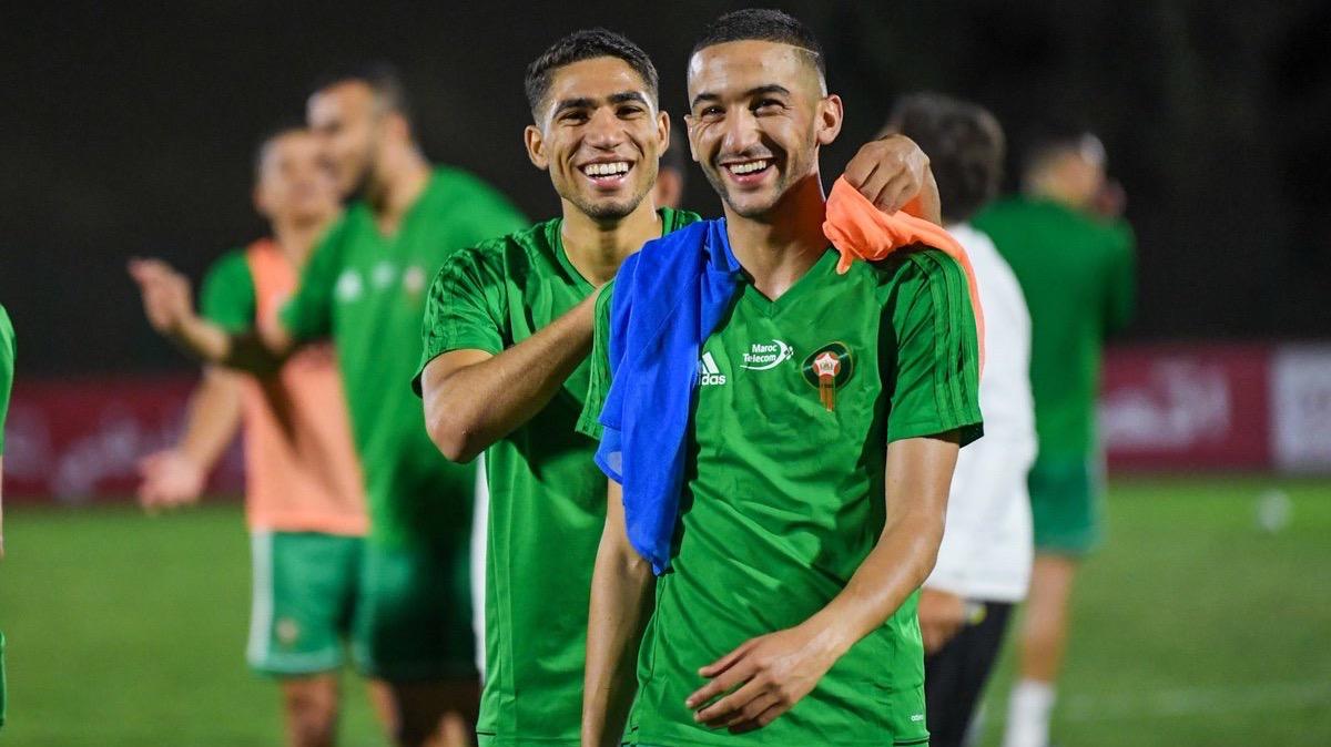 زياش وحكيمي ضمن التشكيلة المثالية لأفارقة الدوريات الأوروبية
