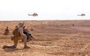 أمريكا تعلن انطلاق أضخم مناورات عسكرية دولية في إفريقيا بمدينة أكادير