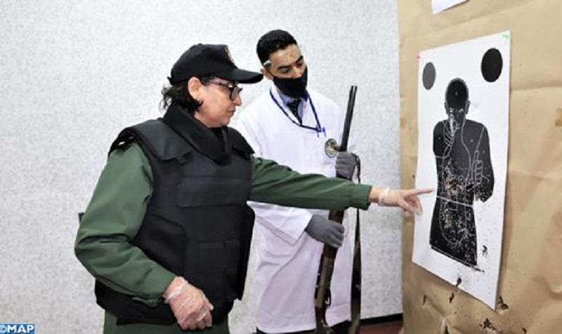 الملازم هدى المجيد.. عندما تُوظف الخبرة الواسعة في الأسلحة النارية لفك ألغاز الجريمة