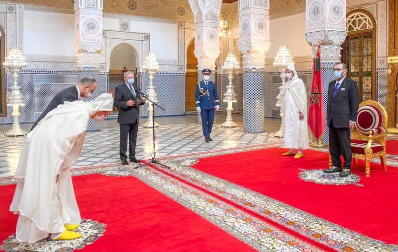 بعد تنصيب عبد النباوي والداكي.. الملك يستقبل أعضاء المجلس الأعلى للقضاء المُعيّنين