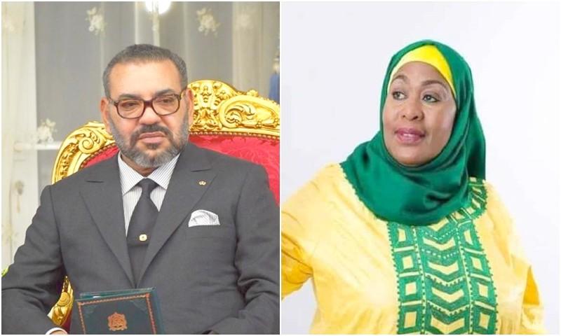 الملك للرئيسة سامية: هنيئا لكن المنصب.. لنعمل سوياً لما فيه مصلحة قارتنا الإفريقية