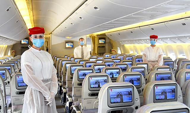 طيران الإمارات تنظم رحلة خاصة بالمسافرين الملقحين
