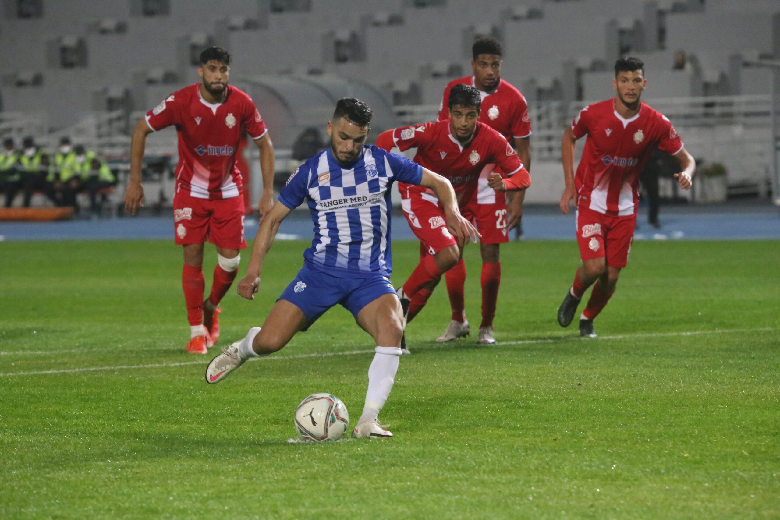 البطولة الاحترافية | اتحاد طنجة يقتنص فوزا مهما أمام الوداد الرياضي