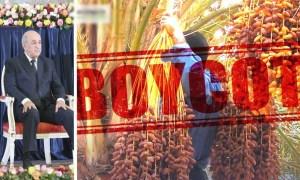 مغاربة مستمرون في حملة مقاطعة تمور الجزائر ردًا على استفزازات 'تبون'