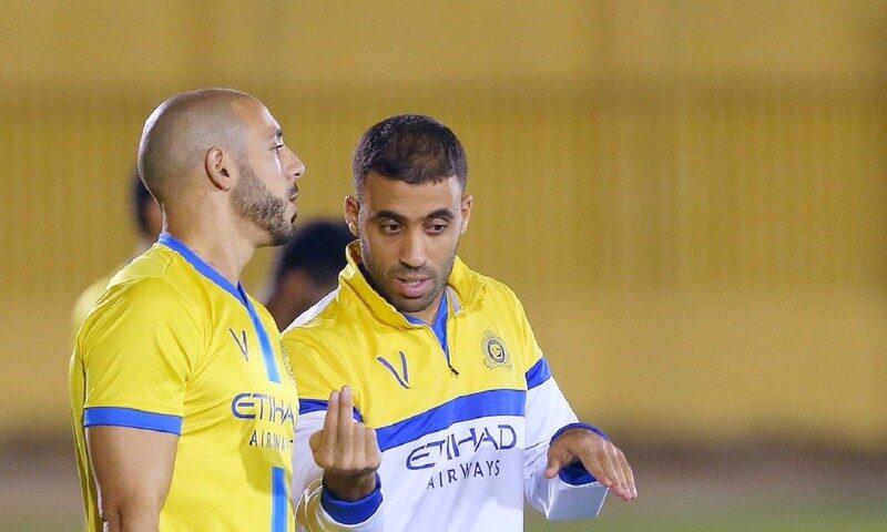 'النصر' يخطط لطرد حمدالله وأمرابط من النادي بسبب التمرد والأداء الضعيف!