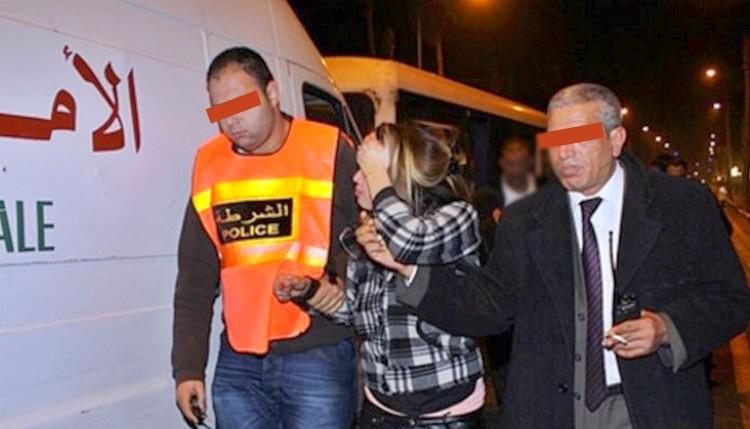 (صورة) اعتقال سيدة بمحطة قطار القنيطرة متلبسة بحيازة مئات أقراص القرقوبي