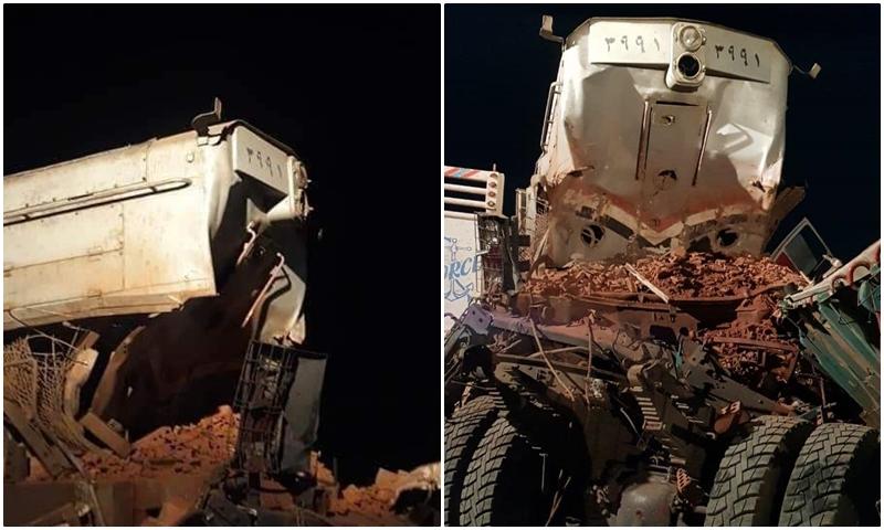 (صور) لعنة السكك تطارد مصر.. قتيل في تصادم قطار بسيارة في السويس