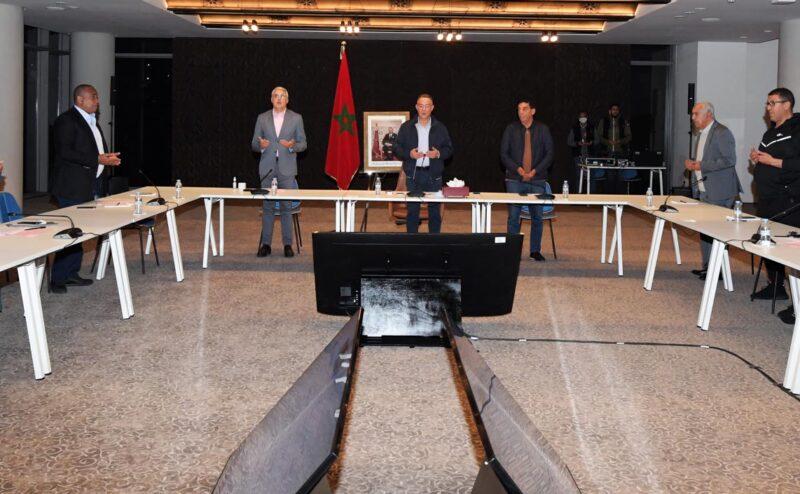 الجامعة الملكية لكرة القدم تعقد اجتماع مكتبها المديري