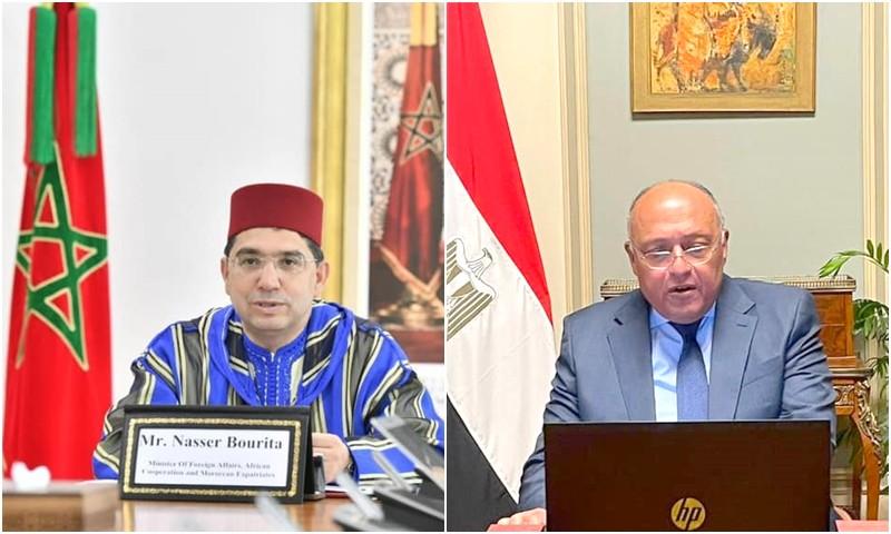 بلاغ مشترك بين الرباط والقاهرة: دعم مصر ثابت للوحدة الترابية المغربية