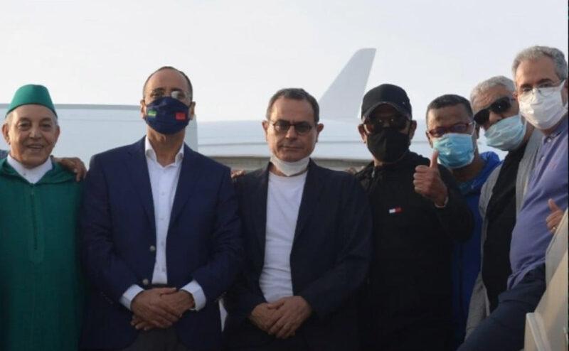 إدارة الرجاء تشكر سفير المغرب بالغابون