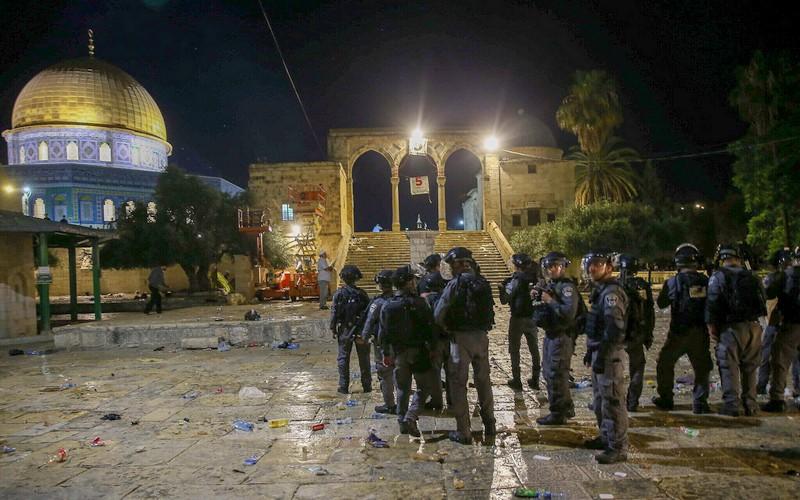 المغرب يدين انتهاكات القوات الإسرائيلية للقدس ويدعو لحماية حرمة المسجد الأقصى