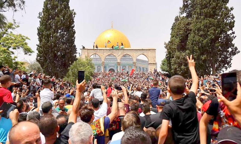 بعد جمعة حاشدة.. القوات الإسرائيلية تقتحم مجدداً باحات المسجد الأقصى