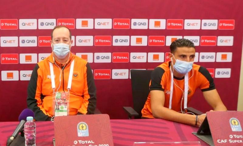 السوبر الإفريقي | مدرب نهضة بركان: 'الأهلي' المصري كبير.  ولا خوف في المباريات الحاسمة