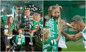 فضال يتوج رفقة لشبونة بلقب الدوري البرتغالي بعد غياب 19 عاما