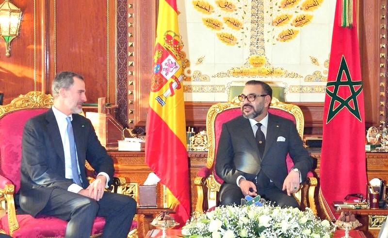 العاهل الإسباني يبرق الملك محمد السادس ويشيد بعمق الصداقة المشتركة مع المغرب