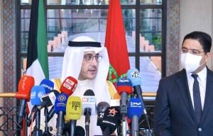 وزير خارجية الكويت يشيد بمساعيالملك محمد السادس في حل الأزمة الخليجية