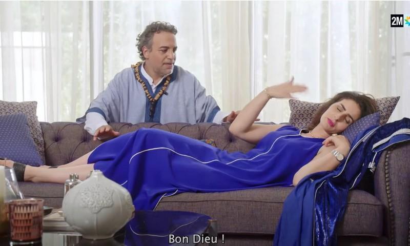 لقطة جريئة في فيلم دوزيم تجر على مريم الزعيمي انتقاد مغاربة