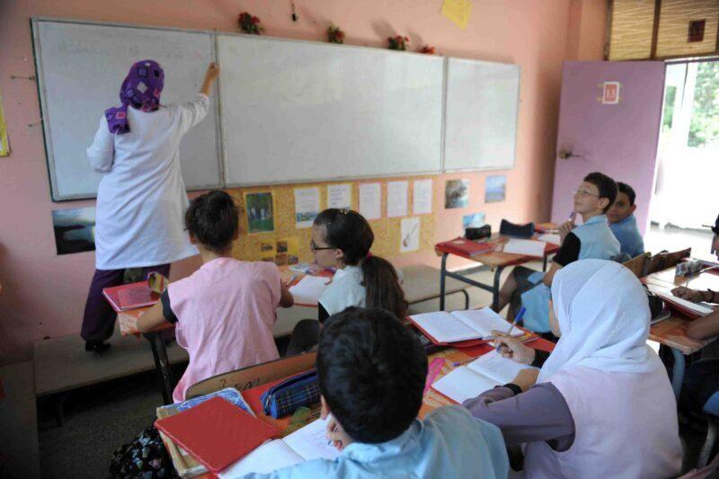 تقرير. مؤشر التمدرس بالسلك الابتدائي بلغ 100 % بالنسبة للإناث والذكور