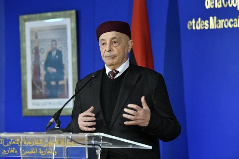 عقيلة صالح: شكرا للملك وللمغرب في السعي لإيجاد حل للأزمة الليبية