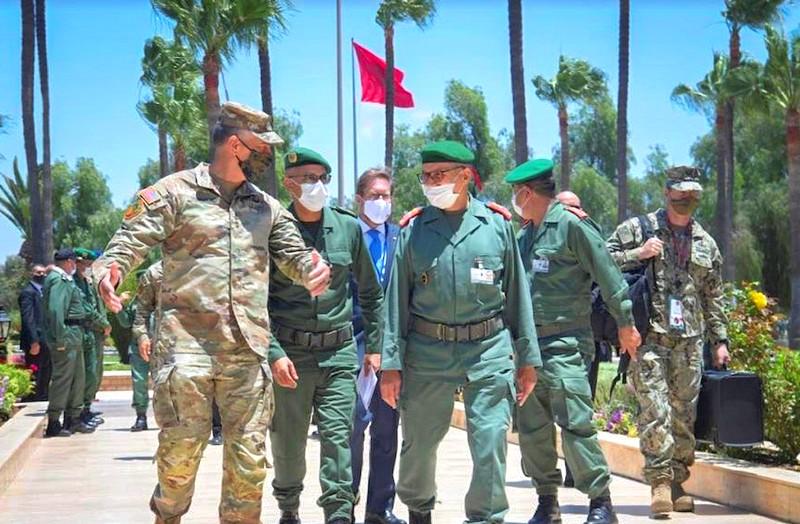 القوات المسلحة المغربية تطرح تجربتها في الحرب الأمنية أمام قادة الجيش الأمريكي