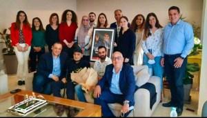 بالصورة.. الفنان عبد الرؤوف يظهر بعد وعكة صحية عابرة