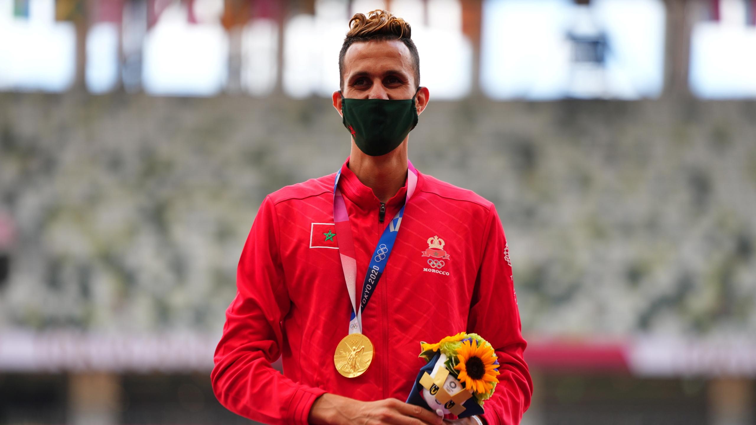 ذهبية سفيان بقالي تضع المغرب رابعا بين العرب في أولمبياد طوكيو