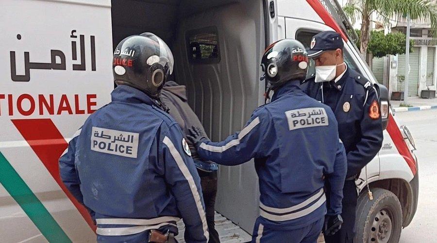 الشرطة تكشف ملابسات إعتداء شقيقتين على شرطي بمحطة القطار بالمحمدية