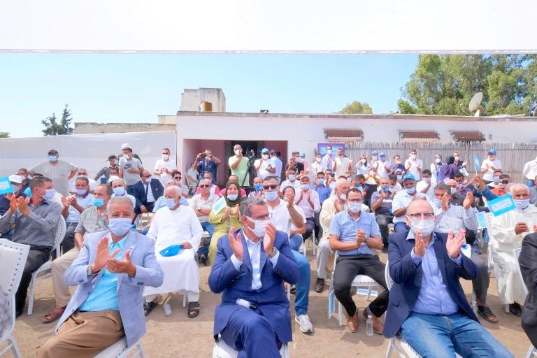 أخنوش يزور سيدي سليمان، ويؤكد: برنامج 'الأحرار' وكفاءاته هي البديل الحقيقي