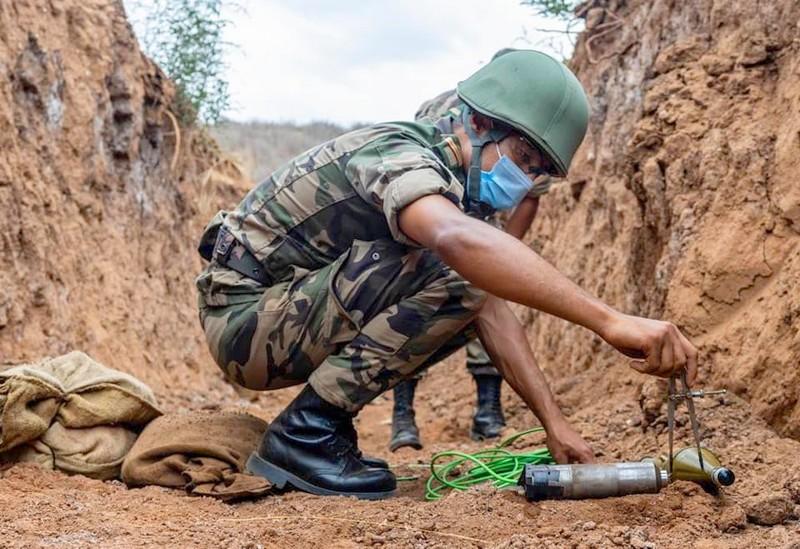 الحرس الأمريكي يطلع القوات المسلحة الملكية على آخر تدابير السيطرة على الكوارث