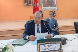 انتخاب التجمعي هرو أبرو رئيساً لمجلس جهة درعة تافيلالت