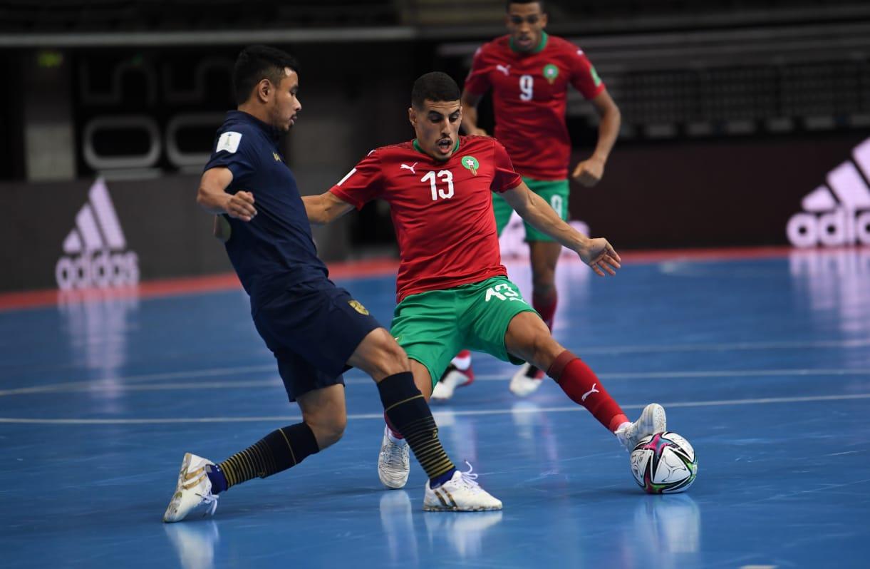 رسمياً   المنتخب الوطني لكرة القدم داخل القاعة يجتاز الدور الأول في كاس العالم