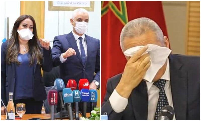 ريمونتادا وزيرة الصحة ودموع مولاي حفيظ.. مغاربة يتفاعلون مع تبادل حقائب الوزراء