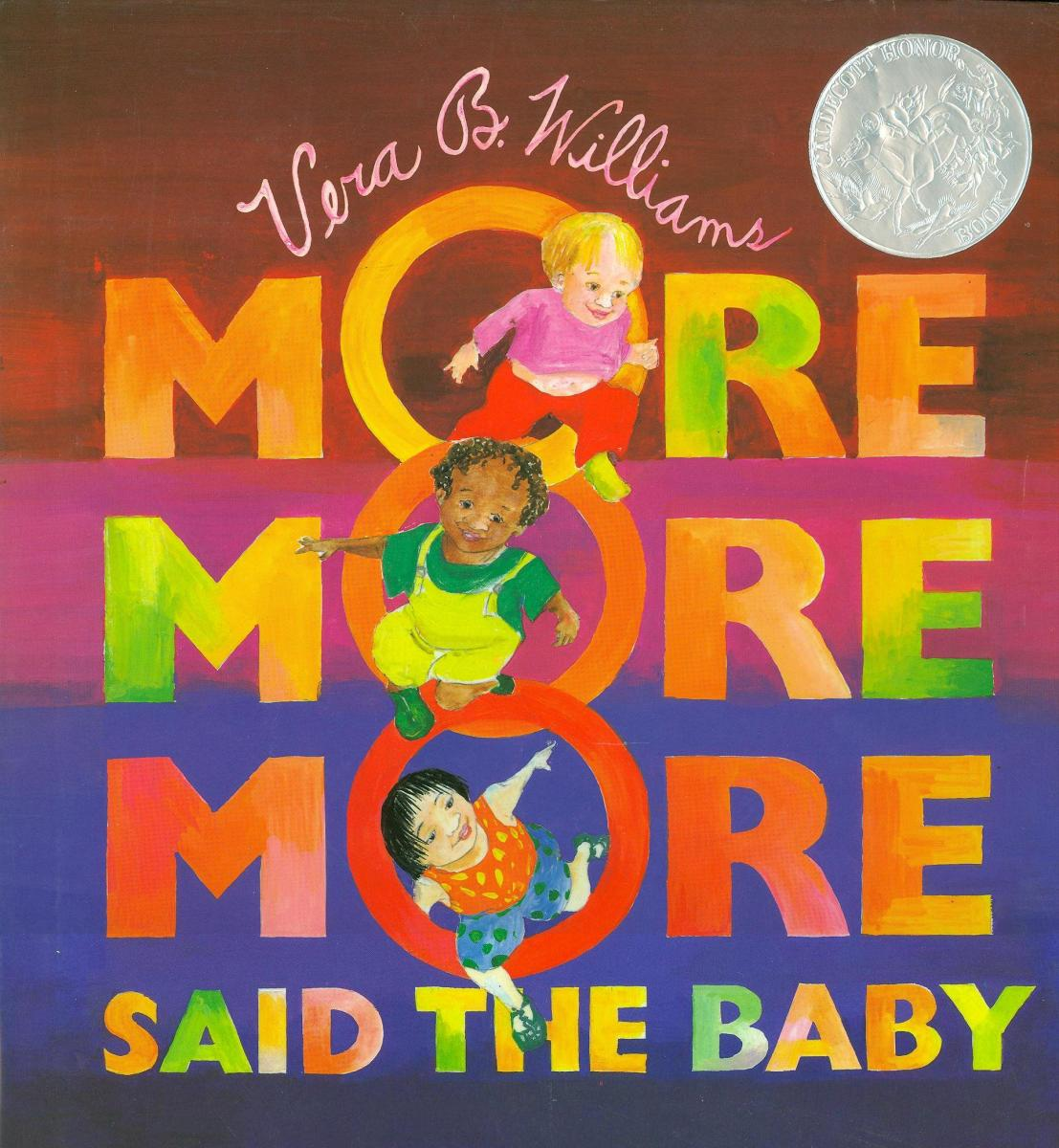 Image result for more more more said the baby