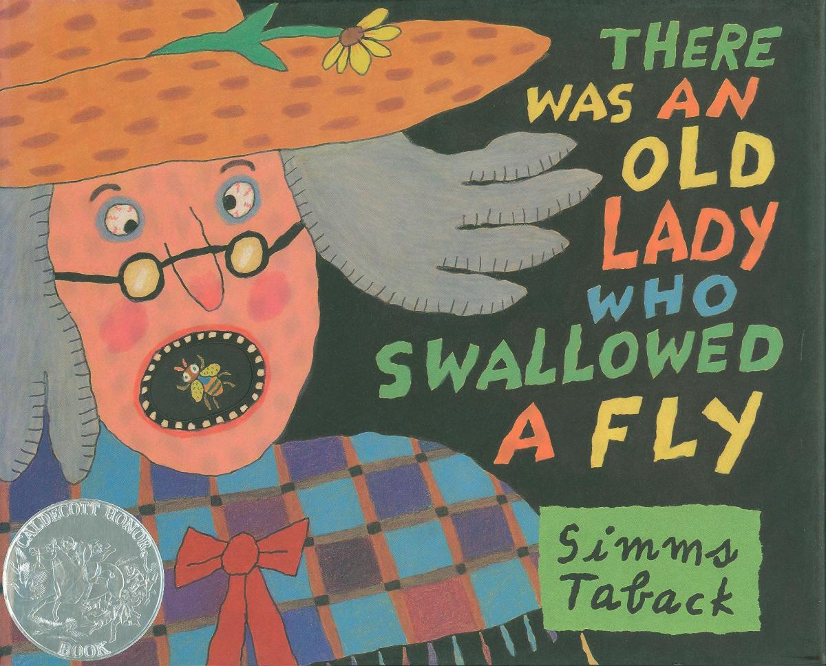 There Was An Old Lady Who Swallowed A Fly Caldecott