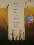 Book cover: Sam & Dave Dig a Hole