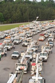 Alabama Power crews will activate based on the severity of storms, damage and outages. (file)