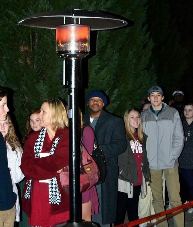 heat lamp outside academy alabama